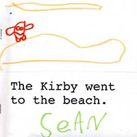 Kirby Went to the Beach