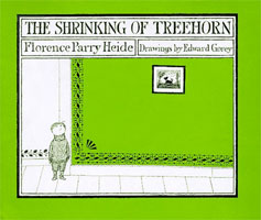 The Shrinking of Treehorn  cover art (Link goes to Powells)