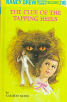 The Clue of the Tapping Heels  cover art (Link goes to Powells)