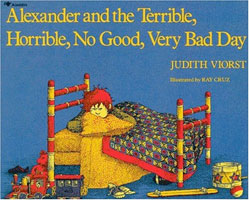 Alexander and the Terrible, Horrible, No Good, Very Bad Day cover art (Link goes to Powells)