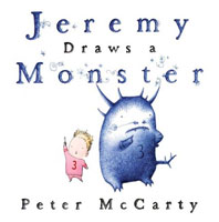 Jeremy Draws a Monster cover art (Link goes to Powells)