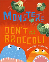 Monsters Don't Eat Broccoli cover art (Link goes to Powells)