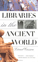 Libraries in the Ancient World cover art (Link goes to Powells)