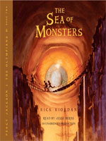 The Sea of Monsters cover art (Link goes to Powells)