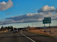 Exit 13 on HWY 101 in Washington