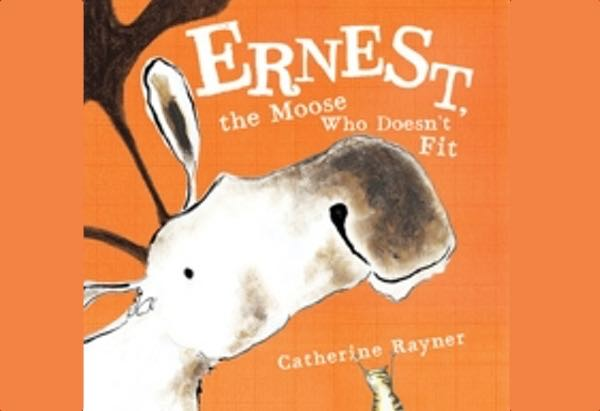 Ernest, the Moose Who Doesn't Fit by Catherine Rayner is another fun interactive book that involves children directly in the story.