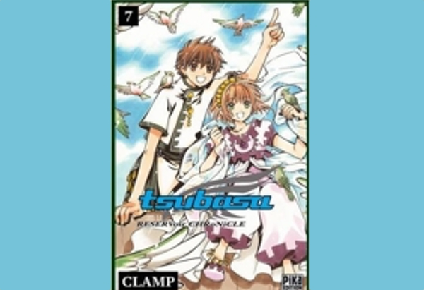 Volume 7 of Tsubasa: Reservoir Chronicle by CLAMP ends the Oto story arc, introduces more of Syaoran's past, and throws in new enemies.