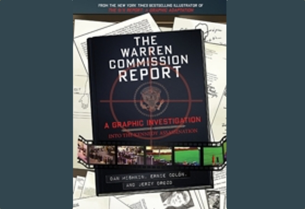 The Warren Commission Report by Dan Mishkin tries to explain Babyboomers' obsession with JKF to everyone too young to have been alive for the assassination.