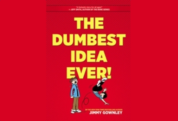 The Dumbest Idea Ever! by Jimmy Gownley: Considering I've heard the same sentiments about graphic novels and comic books from educators and parents, I found Jimmy's ongoing campaign to let them be allowed in school fascinating.