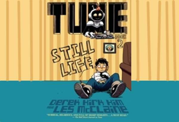 Tune: Still Life by Derek Kirk Kim: Sock Monkey doesn't want a bath.