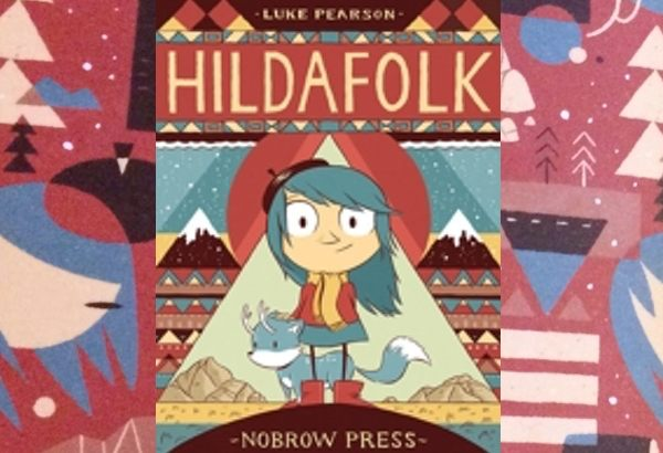 Hildafolk by Luke Pearson: Hilda lives with her mother in a cabin in the foothills..