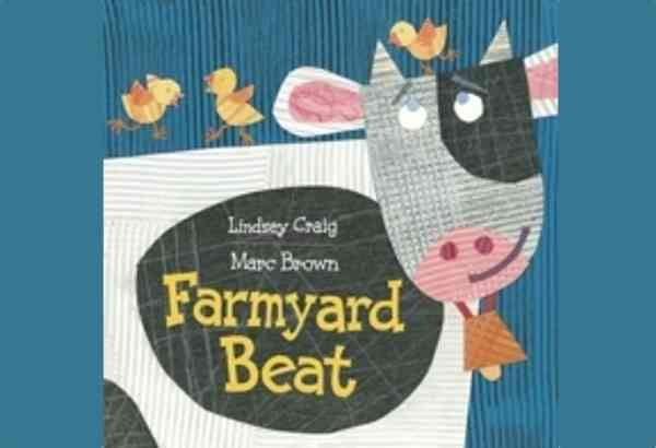 Farmyard Beat by Lindsey Craig uses catchy rhymes and rhythms to tell the story of a barnyard of animals who can't sleep.