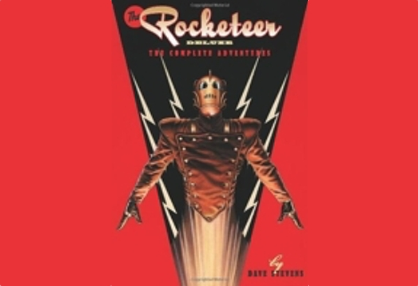 The Rocketeer: The Complete Adventures by Dave Stevens: TThe Rocketeer comic is more about flying, and money troubles, and a rocky relationship between Cliff and Betty.