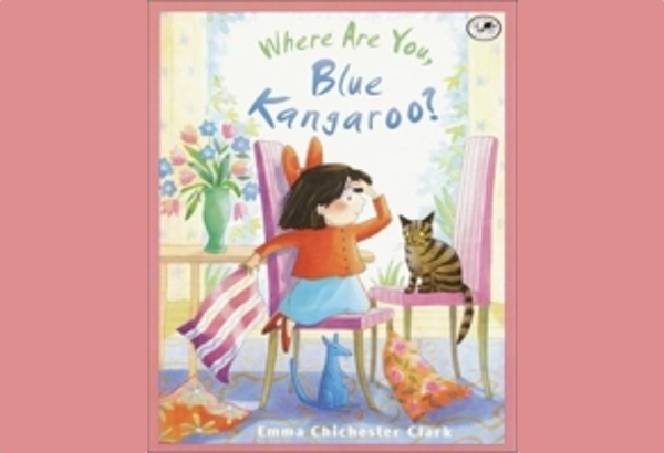 Where Are You, Blue Kangaroo by Emma Chichester Clark: Blue Kangaroo is missing at the zoo