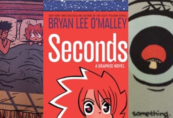 Seconds by Bryan Lee O'Malley: An appealing story of mushrooms and time travel.