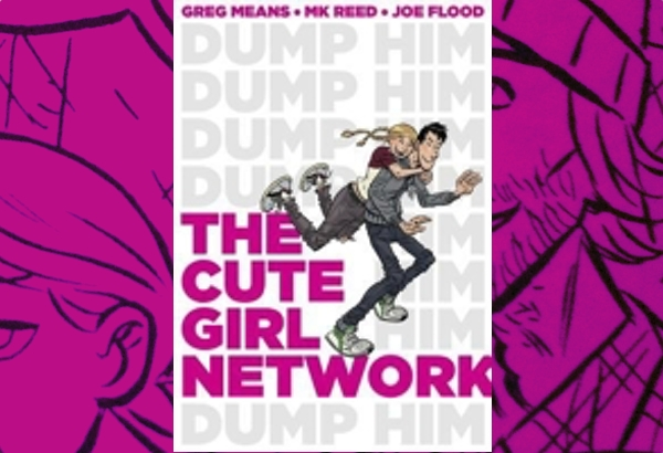 The Cute Girl Network by M.K. Reed:The relationship between Jane and Jack is a nice twist on the third law of library science: every book it's reader.
