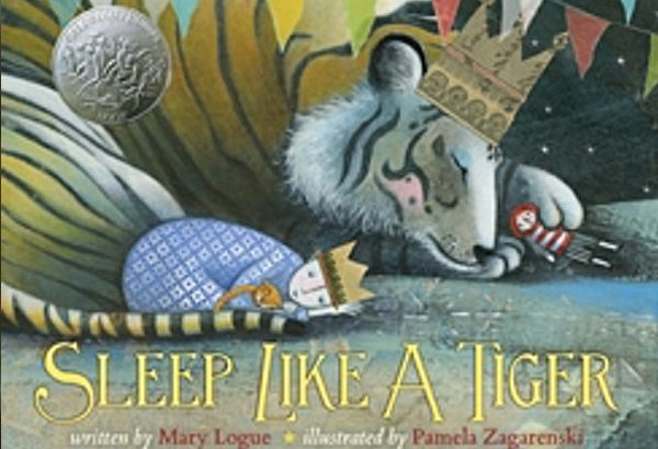 Sleep Like a Tiger by Mary Logue: So many different ways to sleep.