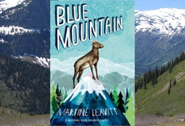Blue Mountain by Martine Leavitt: Tuk for all his short life has had visions of a mysterious Blue Mountain that to his bighorn sheep clan is the promised land.
