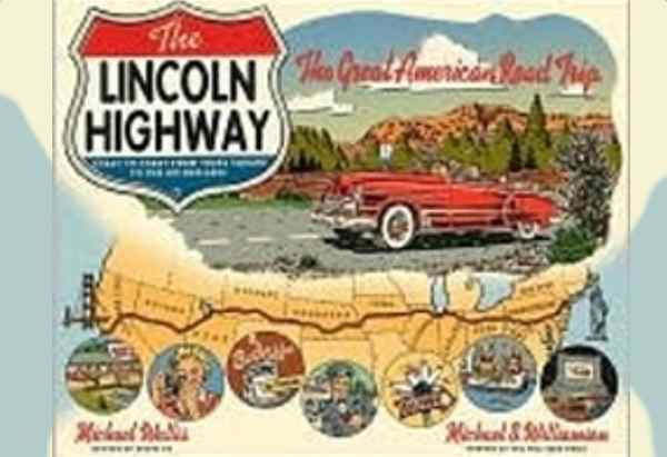 The Lincoln Highway by Michael Wallis is about the building of the Lincoln Highway and what remains of it.