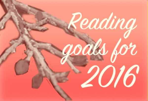 Reading goals for next year