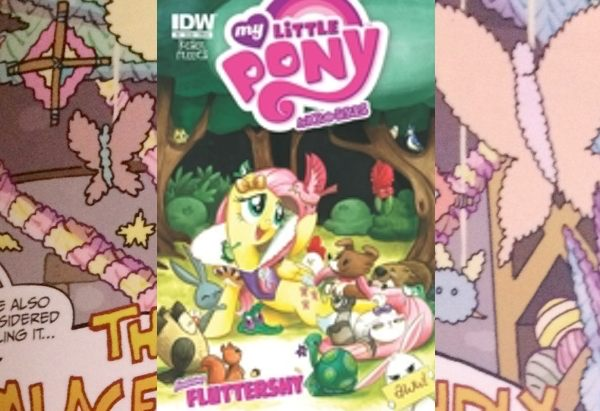 My Little Pony: Micro-Series: #4: Fluttershy by Barbara Randall Kesel