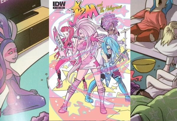 Jem and The Holograms 1 by Kelly Thompson