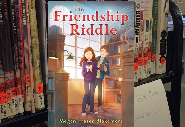 The Friendship Riddle by Megan Frazer Blakemore