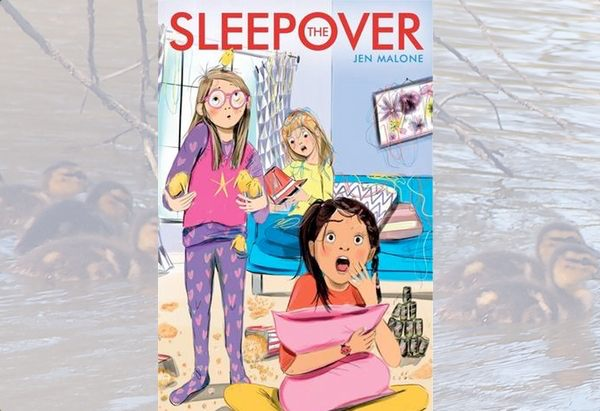 The Sleepover by Jen Malone