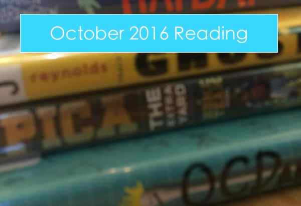 October reading summary
