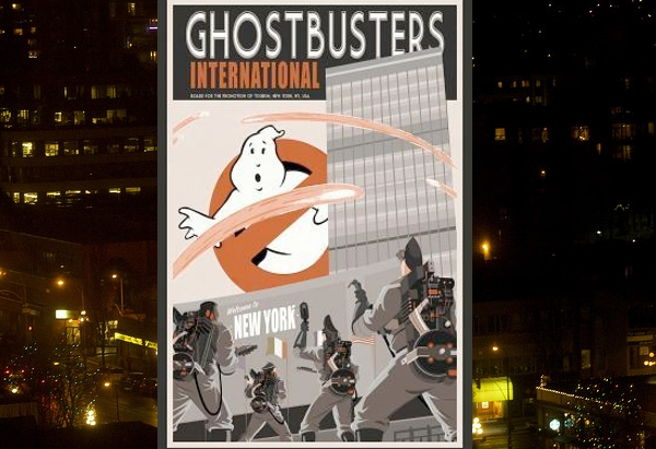 Ghostbusters International by Erik Burnham