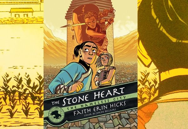 The Stone Heart by by Faith Erin Hicks