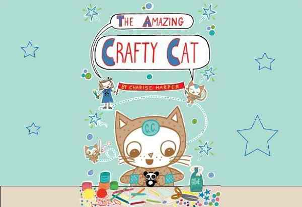 The Amazing Crafty Cat  by Charise Mericle Harper