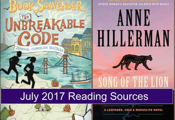 July Reading Sources