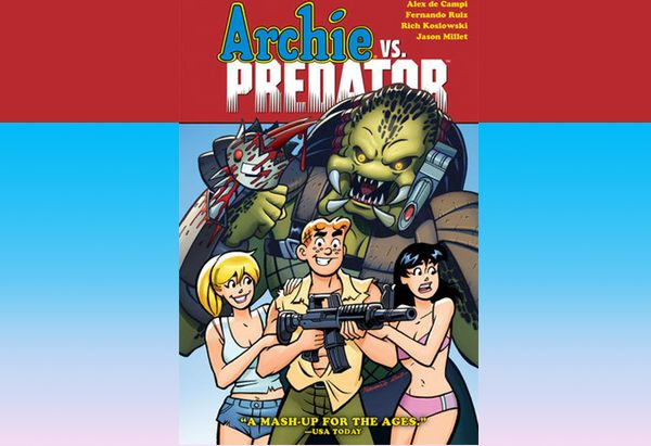 Archie vs Predator by Alex de Campi