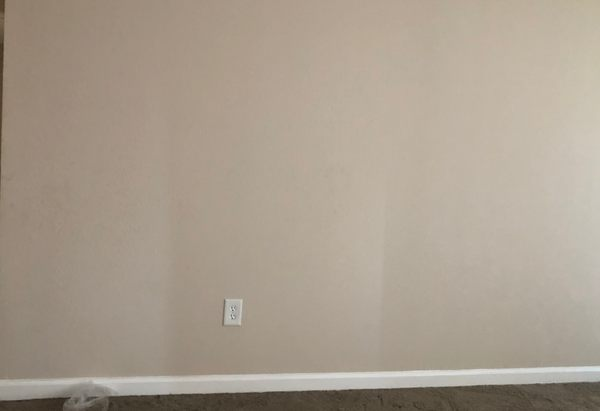 The now empty living room.