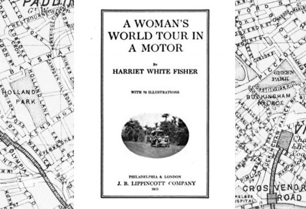 A Woman's World Tour in a Motor by Harriet White Fisher
