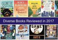 Diverse books reviewed in 2017