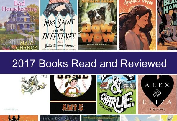 2017 books read and reviewed