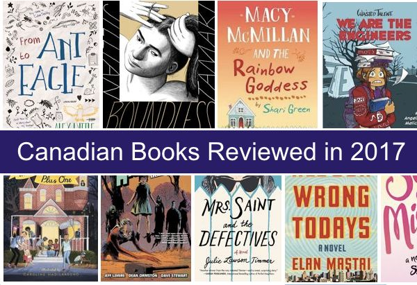 Canadian Books reviewed in 2017