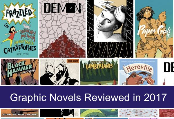 Graphic Novels Reviewed in 2017