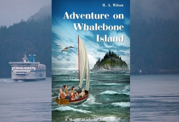 Adventure on Whalebone Island by M.A. Wilson