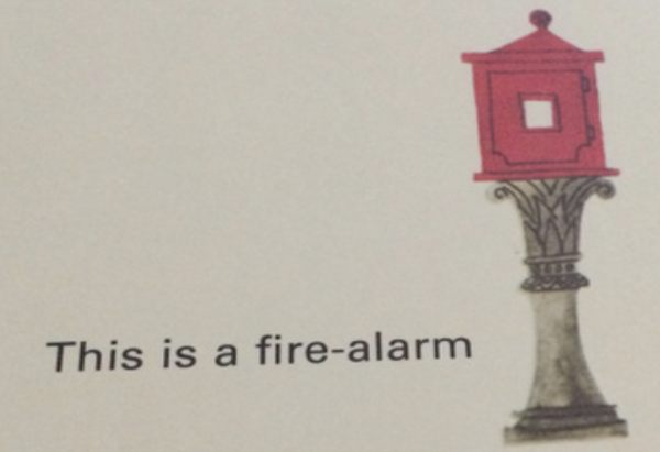 This is a fire-alarm
