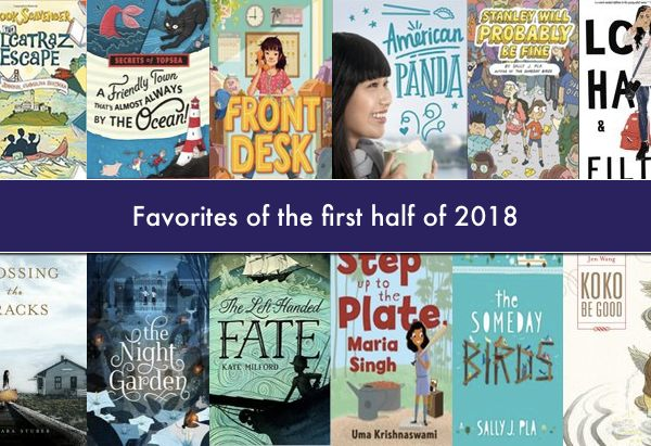 Favorite books for January through June