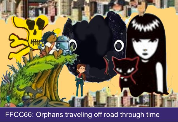 FFCC66: Orphans traveling off road through time