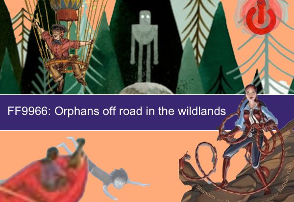 FF9966: Orphans off road in the wildlands