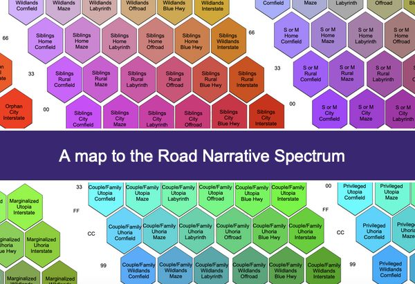 A Map to the Road Narrative Spectrum