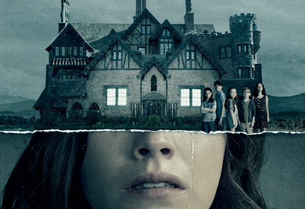 Netflix title art for The Haunting of Hill House