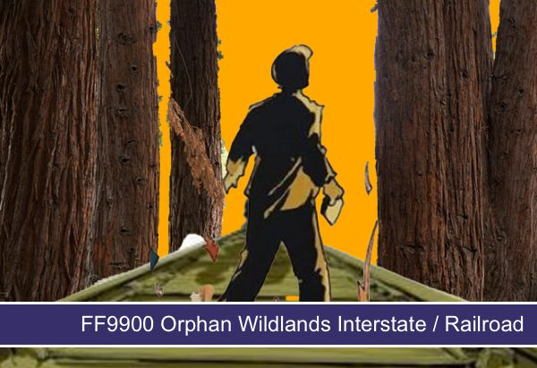 FF9933 Orphan Wildlands Blue Highway