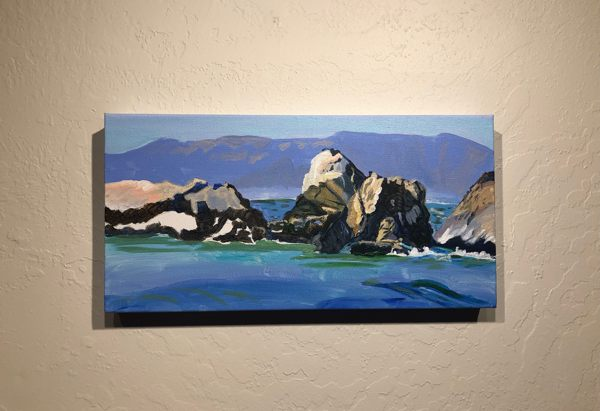 Rockaway Beach, Pacifica, seascape, a WIP