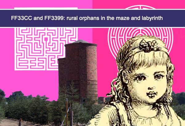 FF33CC and FF3399: rural orphans in the maze and labyrinth